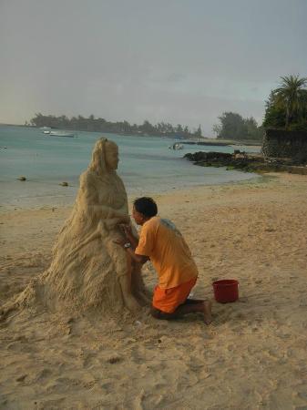Pereybere Beach: Fantastic skill!