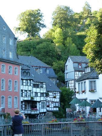 Burghotel Monschau: View from Hotel