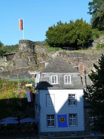Burghotel Monschau: View from the room