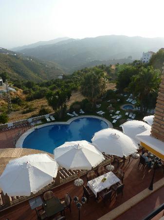 Balcon de Competa Hotel and Bungalows: Uitzicht vanaf balkon