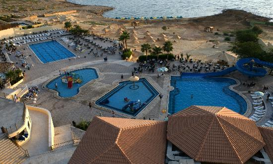 Sweimah, Jordan: Dead Sea Spa Hotel - Top view