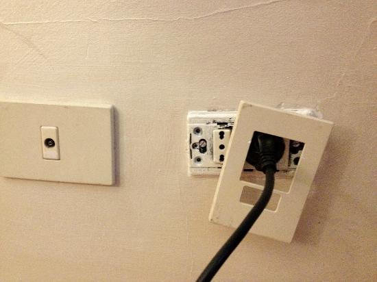 Hotel Navona: Dangerous plugs
