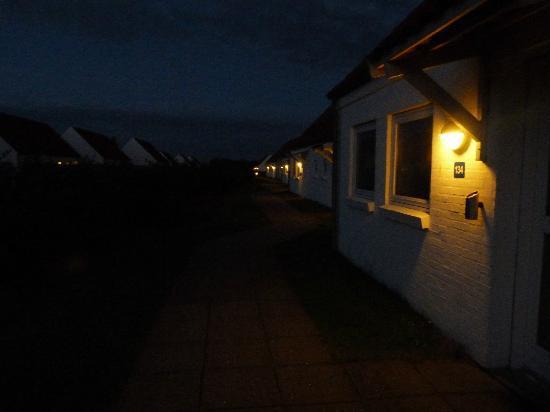 Holidaycenter Skagen Strand: Le case di notte