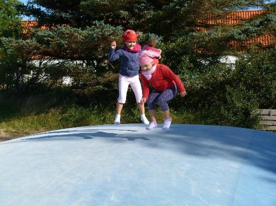Holidaycenter Skagen Strand: Il materasso gonfiabile