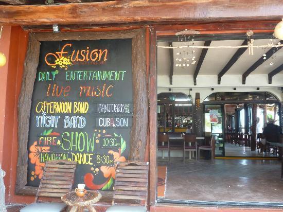 Fusion Bar & Restaurant: Fusion