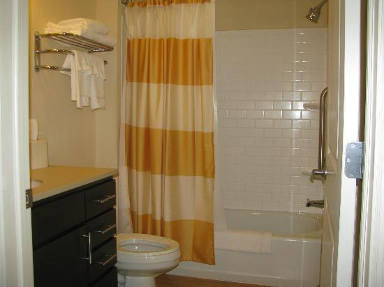 TownePlace Suites Republic Airport Long Island/Farmingdale : Nice bathroom