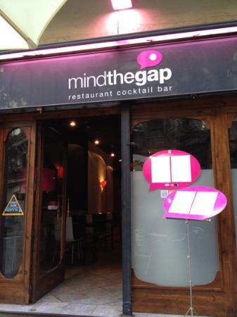 Mind the Gap: outside
