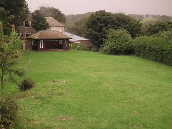 YHA Conwy: garden