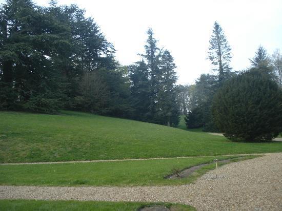 Le Chateau de Reignac : Área externa