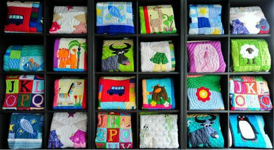 Mekong Quilts - Mekong Plus: Hand-stitched baby quilts