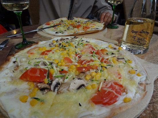 L'Amandine Salon de The: pizza