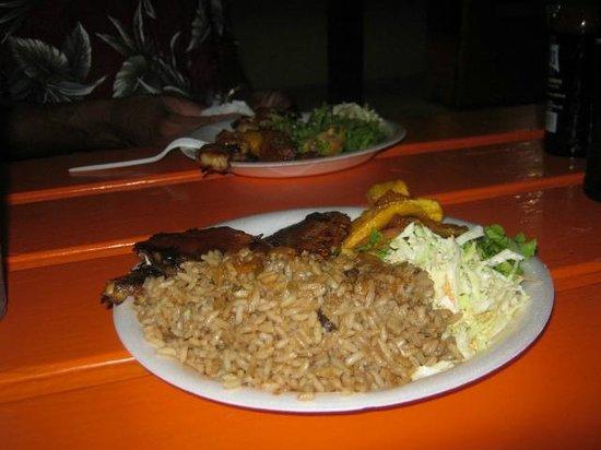 Oistins, Barbados: Snapper's Delight ...