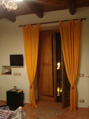 Beata Solitudo: Balcony entrance
