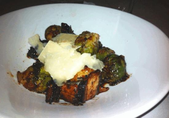 Mojo: Best Glazed Brussel Sprouts and Pork Belly EVER!
