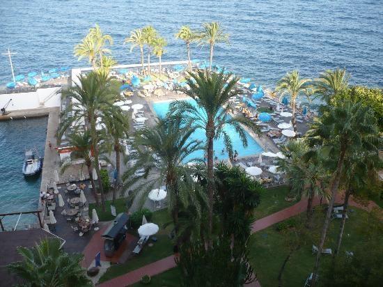 Hotel Riu Palace Bonanza Playa: view from balcony