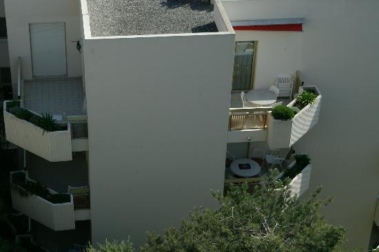 Hapimag Residenz Antibes : Our apartment from above