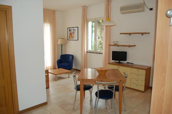 Riviera Residence: soggiorno Bilocale
