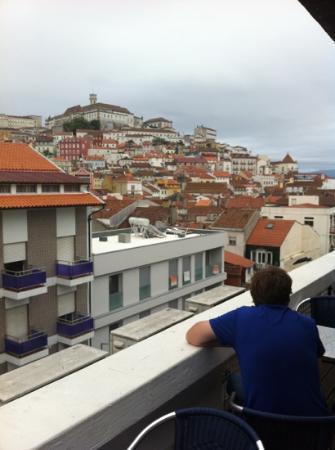 Hotel Oslo Coimbra : rooftop bar