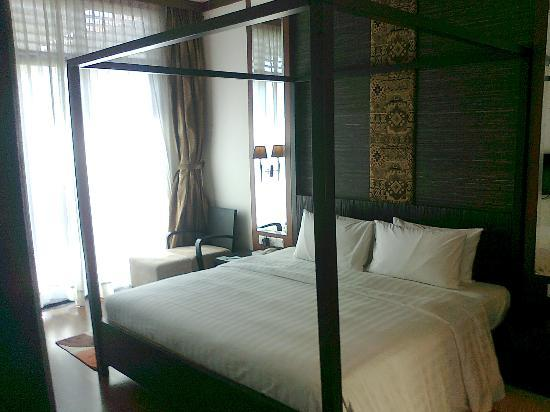 Nexus Resort & Spa Karambunai: Comfortable, clean, big bed...