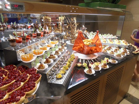 Kahya Resort & Aqua: sieh super aus...aber alles fast Pudding schön für die Augen