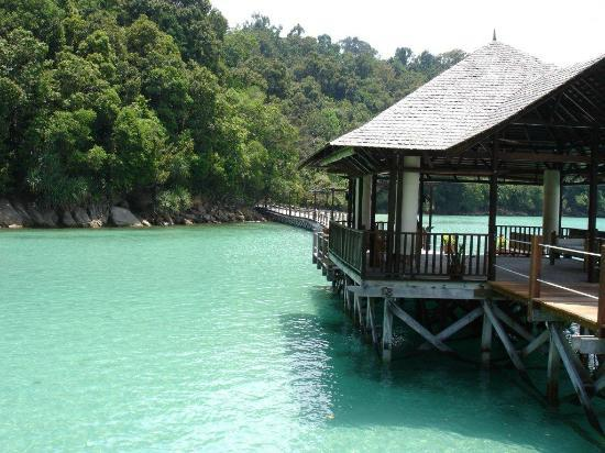 Bunga Raya Island Resort: You've arrived