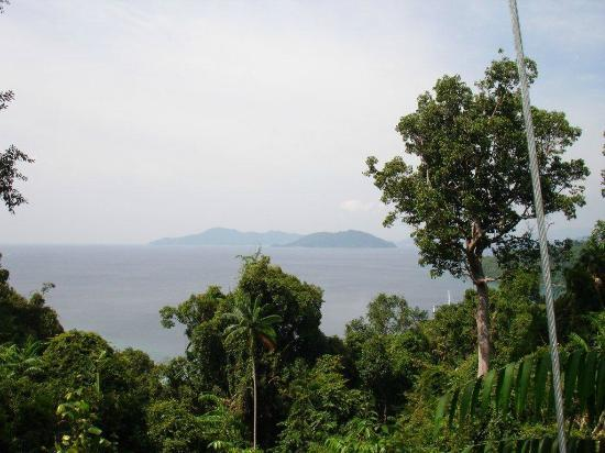 Bunga Raya Island Resort: View from the top