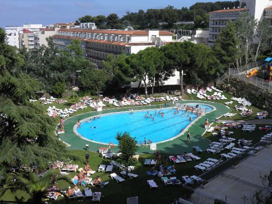 Hotel Samba : wIDOK Z OKNA POKOJU
