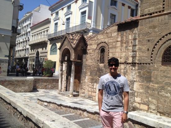 Ermou Street : church
