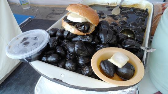 Museo de la Ciudad: Sanduche de higo con queso