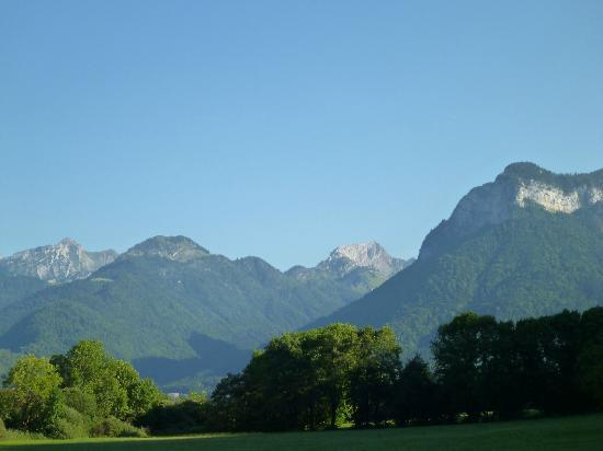 Camping les Fontaines : View from some of the Euro tents