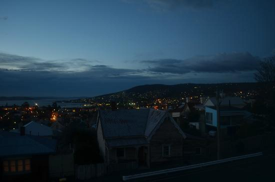 The Marquis Hotel Motel: Hobart from our window