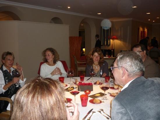 Relais & Chateaux - Hostellerie de Levernois : le repas au restaurant de l'Hostellerie de Levernois
