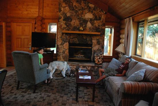 Living Room Picture Of Castle Mountain Chalets Banff Tripadvisor