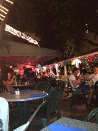 Old Town Mexican Cafe : Veranda