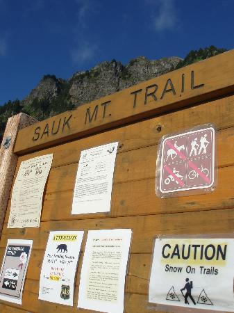 Sauk Mountain Trail