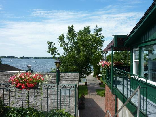 The Gananoque Inn and Spa : Lake Ontário e o Hotel Gananoque In