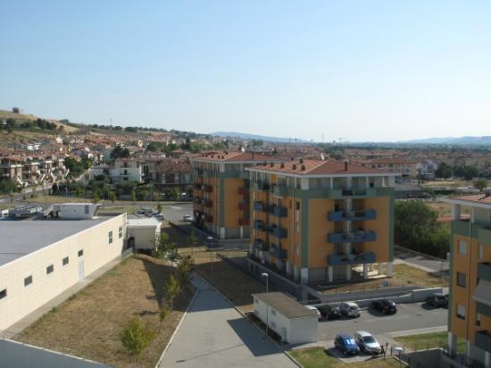 Blu Arena Hotel : Blick aus dem Zimmerfenster