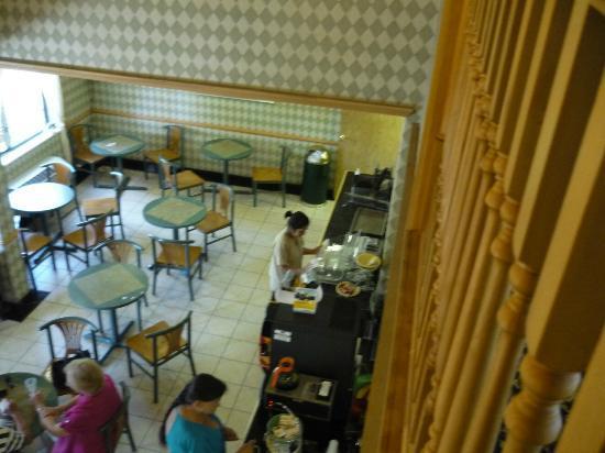 Quality Inn Tech Center: Breakfast area