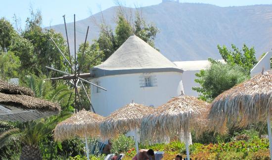 ميدترينيان رويال: le moulin vue de l'intérieur 