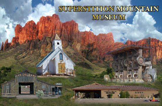 Апаче-Джанкшн, Аризона: Superstition Mountain Museum poto by Ray Soden