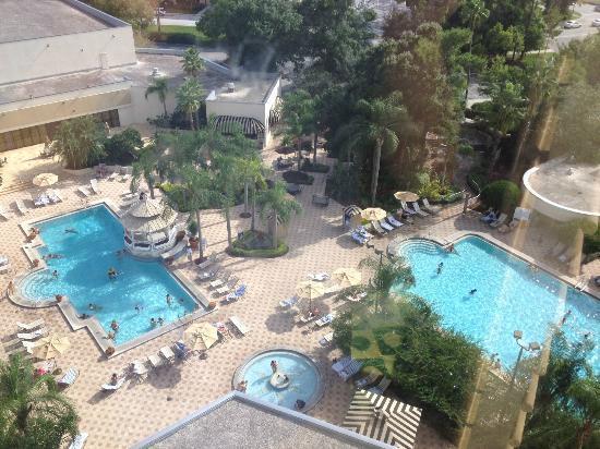 Hilton Orlando Lake Buena Vista - Disney Springs™ Area: View from room