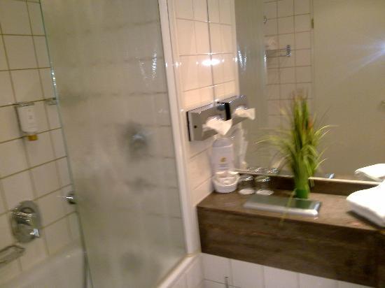 Hansa Apart-Hotel Regensburg: Bathroom