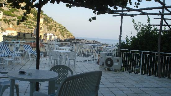 Hotel Maison Raphael: terrazza panoramica