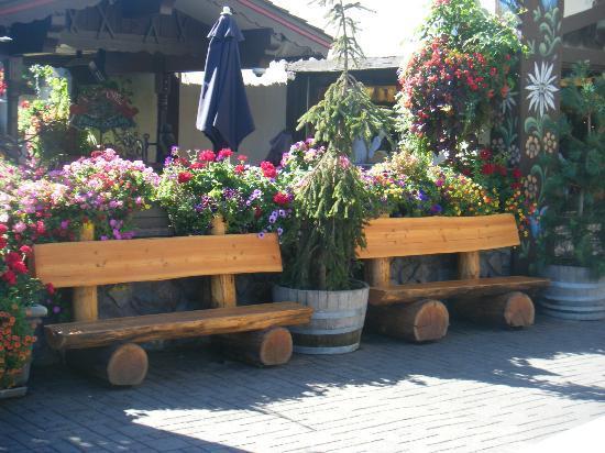 Front Street Park: Leavenworth, WA