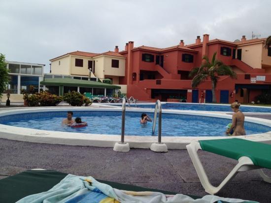 Lago Azul: piscina