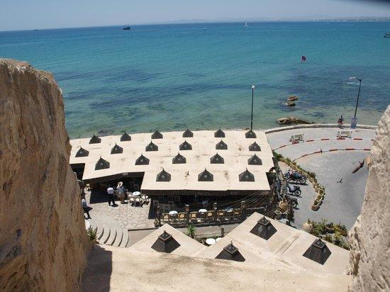 Kasbah of Hammamet: view from the kasbah