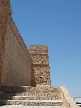 Kasbah of Hammamet: steps leading to the Kasbah