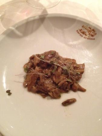 Terzo Crotto: funghi porcini trifolati