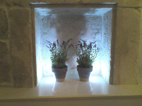 Palace Judita Heritage Hotel: 部屋に飾られたラベンダーの鉢植え