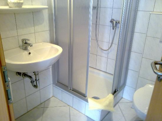 Gasthof-Pension Wilder Mann: Bathroom